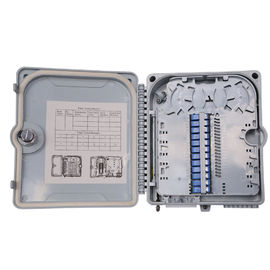 China Outdoor Fiber Optic Distribution Box ABS Plastic Material Insulation Resistant factory