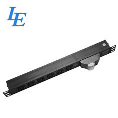 "China 19"" IEC Rack Power Bar For Networking , IEC320 C14 Plug Rack Switched Pdu factory"