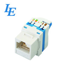 China UTP TOOLLESS Network Keystone Jack Phosphor Bronze Material For Ethernet Network factory
