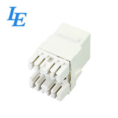 China 8 Pin Network Keystone Jack With RJ45 Connector CE Approved Long Lifespan factory