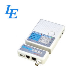 China Crimping Tools Cable Rj45 Tester , Ethernet Network Tester Operate With Auto Scan factory