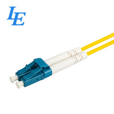 China IG07-01 Single Mode Fiber Optic Patch Cord , Durable Duplex Patch Cord factory