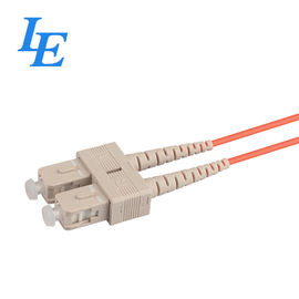 China SC / UPC Optical Patch Cord Simplex / Duplex Cable Type With Ceramic Ferrule factory