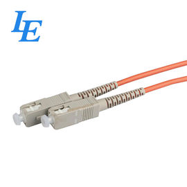 China LE Simplex Patch Cord High Return Loss , High Stability Optical Cable Cord factory