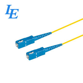 China Fiber Optic Cable Patch Cord , Fiber Pigtails Patch Cords Long - Term Usage factory