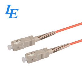 China IG17-04 Multimode Fiber Patch Cord For Optical Communication System factory