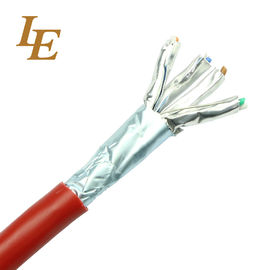 FTP / UTP Network Lan Cable Cat 5e 4 Pairs PVC Jacket Material Ripcord