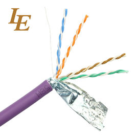 China Twisted Ethernet Network Lan Cable Customizable U / UTP Cat 5e 4 In 1 Unshielded factory