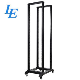 China SPCC Material Open Rack 19 Inch Server Cabinet 400KG Loading Capacity CE / ROHS factory