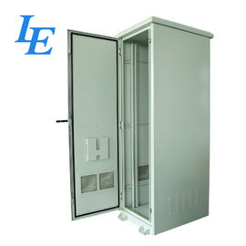 China Outdoor Server Rack Cabinet Floor Standing Network Rack 22U - 42U Steel Rear Door factory