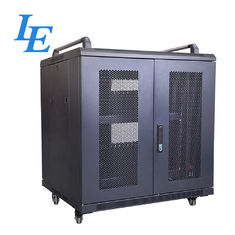 China 800KG Loading Capacity Server Rack Cabinet PDU Rack IP20 SPCC Material Rolling Wheels With Braked factory