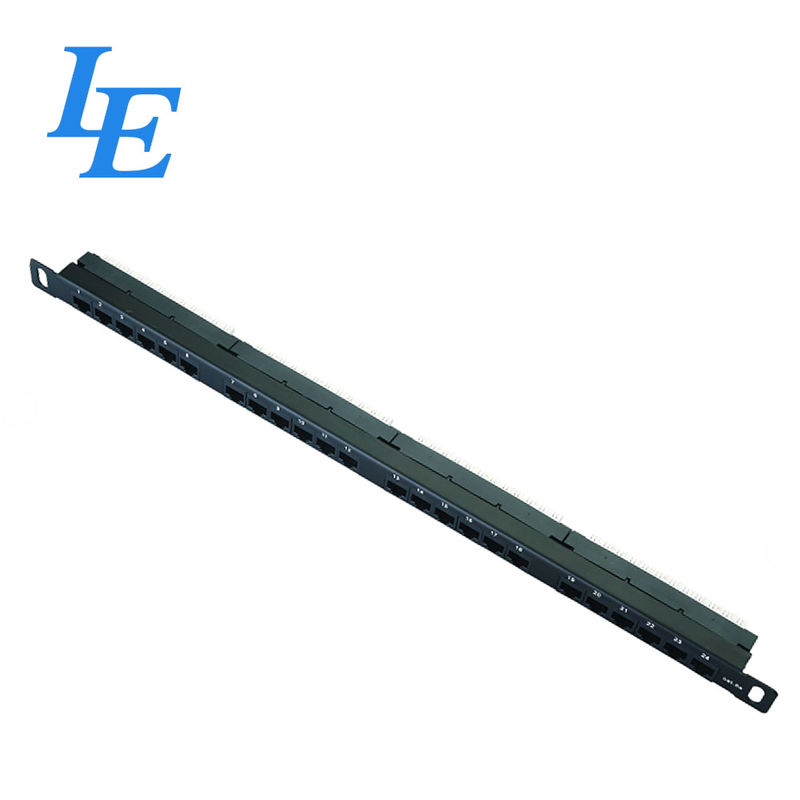 0.5U Network Patch Panel 1000 Matching Cycles With Compatible Srews / Cable Ties supplier