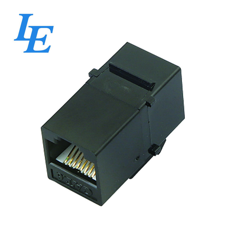 Silver Rj45 180 Keystone Jack With FCC Connector Fitting For Cat 5e General Cable supplier
