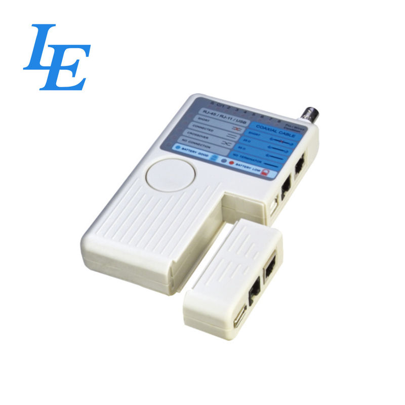 CE IOS9001 Network Wiring Tools Network Cable Tester For RJ45 / BNC supplier