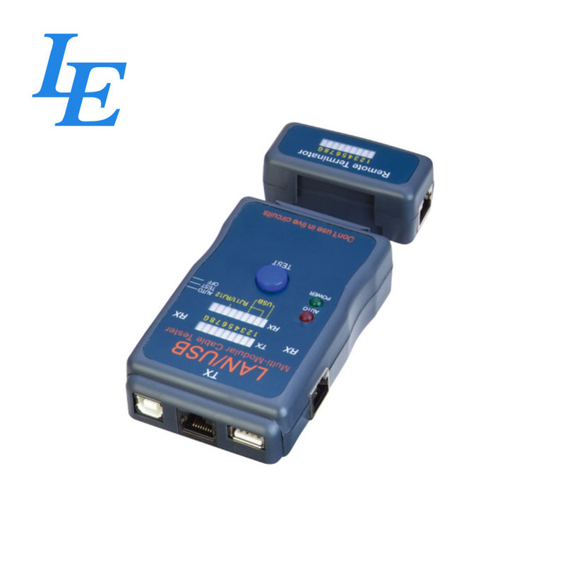 RJ45 Lan Cable Continuity Tester , Multi - Purpose Lan Network Cable Tester supplier