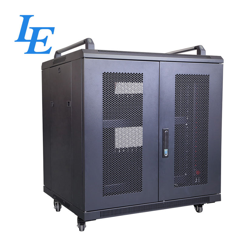 800KG Loading Capacity Server Rack Cabinet PDU Rack IP20 SPCC Material Rolling Wheels With Braked supplier