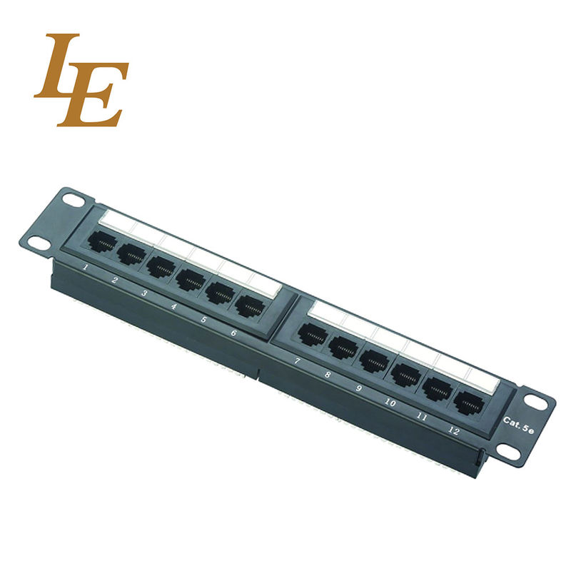 Telecommunication CAT5E Krone Network Patch Panel supplier